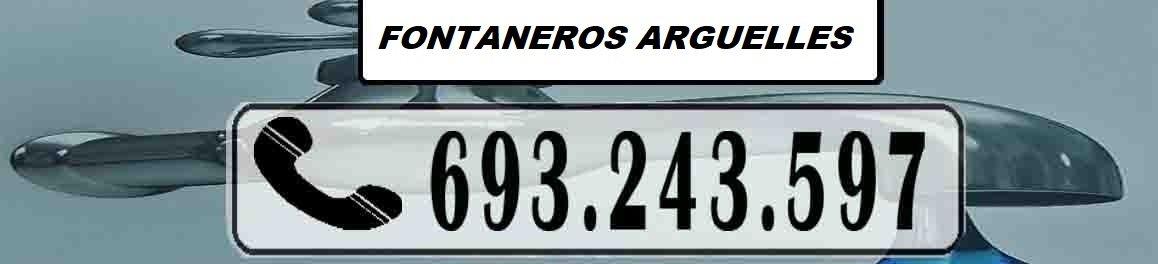 Fontaneros Arguelles Madrid Urgentes